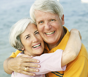 Full Mouth reconstruction Detroit - Senior Couple treatments